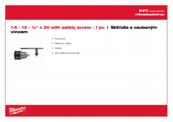 MILWAUKEE Keyed Chucks  4932267980 A4 PDF