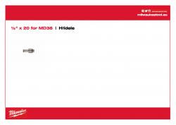MILWAUKEE Arbors  48662125 A4 PDF