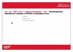 MILWAUKEE Keyless Chucks for FIXTEC machines  4932399492 A4 PDF