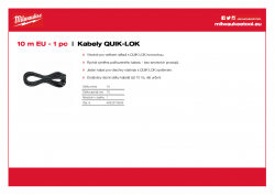 MILWAUKEE Cables  4932373503 A4 PDF