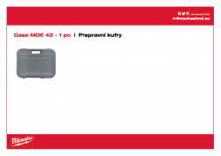 MILWAUKEE Transport cases  4931371783 A4 PDF