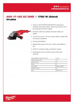 MILWAUKEE AGV 17  4933455140 A4 PDF