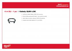 MILWAUKEE Cables  4932373502 A4 PDF