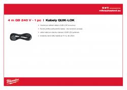 MILWAUKEE Cables  4932373508 A4 PDF