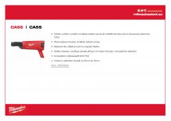 MILWAUKEE CA55 Zásobník na šrouby pro M18 FSG 4933459202 A4 PDF