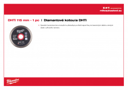 MILWAUKEE Professional DHTi DHTi 115 4932399552 A4 PDF