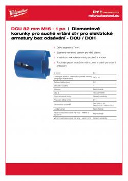 MILWAUKEE DCH / DCU  4932371979 A4 PDF