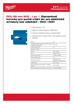 MILWAUKEE DCH / DCU  4932371978 A4 PDF