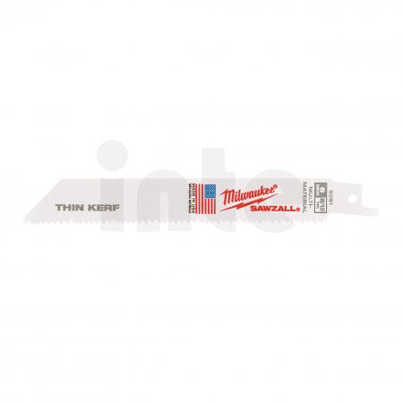 MILWAUKEE Pilové plátky  150/3,2/2,1 mm Bimetal, Co (5 ks) 48005091