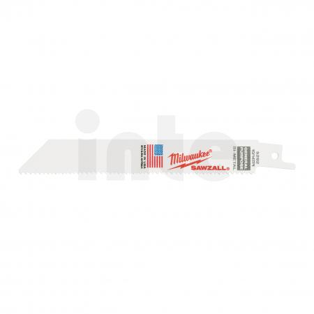 MILWAUKEE Pilové plátky  150/2,5/1,8 mm Bimetal, Co (5 ks) 48005292
