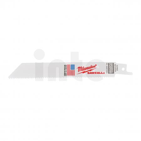 MILWAUKEE Pilové plátky  150/2,5/1,8 mm Bimetal, Co (50 ks) 48016292