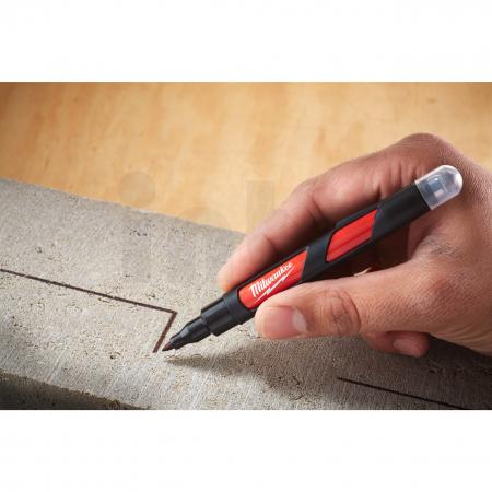 MILWAUKEE Značkovač - jemný hrot 1mm se stylusem 48223101