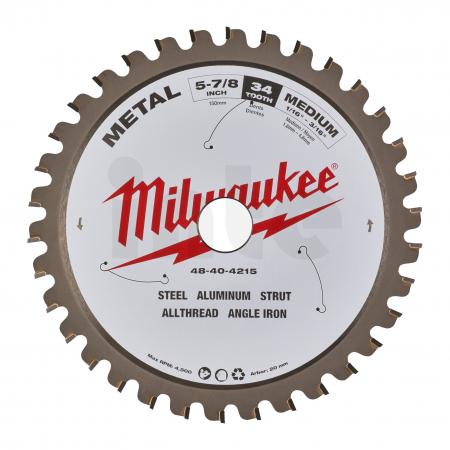 MILWAUKEE Pilový kotouč kov 150x20x1,6x34 48404215