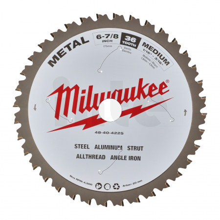 MILWAUKEE Pilový kotouč kov 174x20x1,6x60 48404225