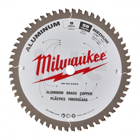 MILWAUKEE Pilový kotouč hliník 203x5/8x2,4x58 48404345