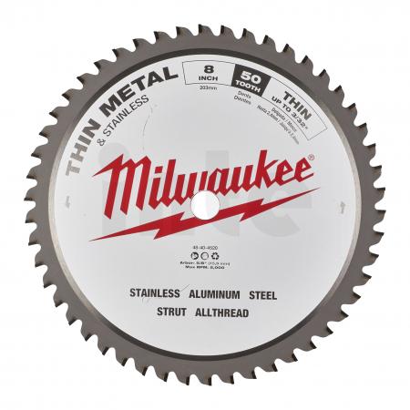 MILWAUKEE Pilový kotouč na kov 203/15,87/50z. 48404520