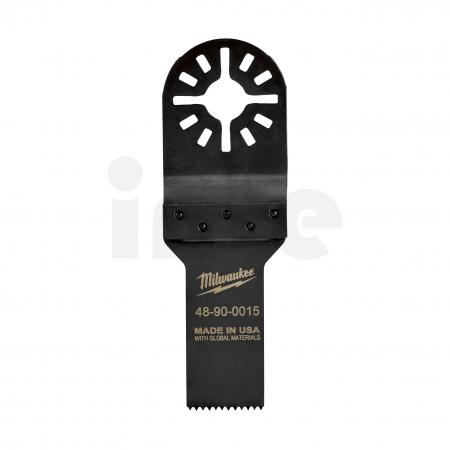MILWAUKEE Multi-Tool Accessories - Closed Reception 19 mm Nůž pro ponorné řezání. Ponorné / hloubkové / řezání do dřeva a PVC. 4