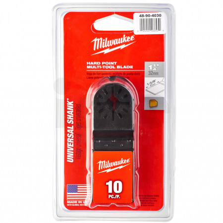 MILWAUKEE Multi-Tool Accessories - Closed Reception  48904030