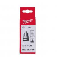 "MILWAUKEE Ozubené sklíčidlo 1/2""x20 (1-13mm) 4932267980"