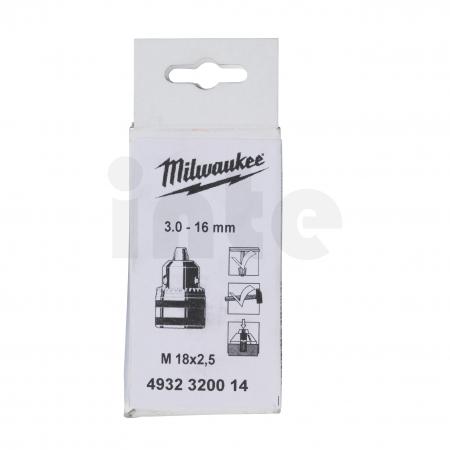 MILWAUKEE Ozubené sklíčidlo M18x2,5 (3-16 mm) 4932320014