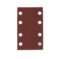 MILWAUKEE Brusný papír 80x133mm, zrnitost 120 - 10ks 4932351668