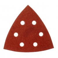 MILWAUKEE Brusný papír delta 105x105mm, zrnitost 80 - 5ks 4932358493