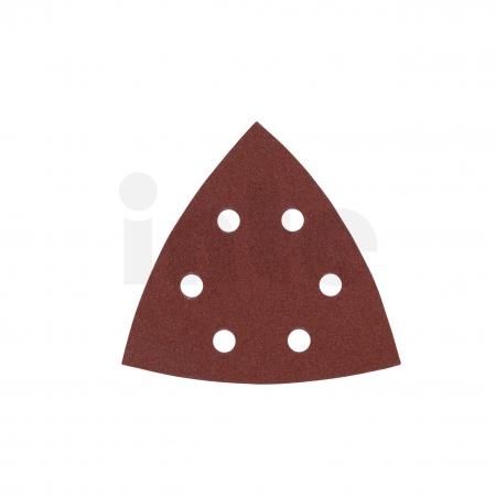 MILWAUKEE Brusný papír delta 105x105mm, zrnitost 120 - 5ks 4932358494