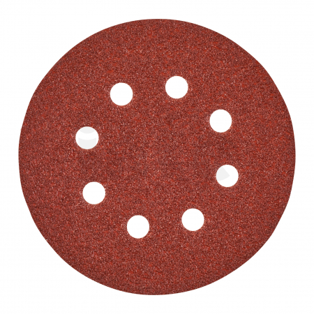 MILWAUKEE Brusný papír Ø125mm, zrnitost 40 - 5ks 4932367740