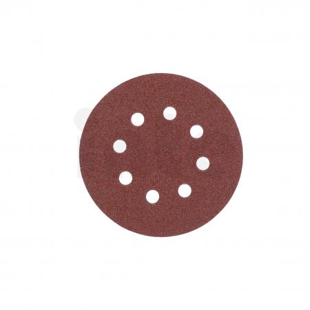 MILWAUKEE Brusný papír Ø125mm,zrnitost 60 - 5ks 4932367741