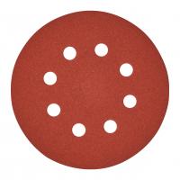 MILWAUKEE Brusný papír Ø125mm,zrnitost 180 - 5ks 4932367744