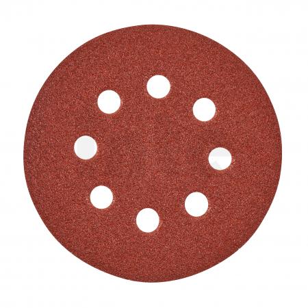 MILWAUKEE Brusný papír Ø125mm,zrnitost 60 - 25ks 4932371396