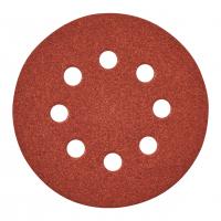 MILWAUKEE Brusný papír Ø125mm,zrnitost 80 - 25ks 4932371397