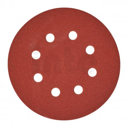 MILWAUKEE Brusný papír Ø125mm,zrnitost 180 - 25ks 4932371399
