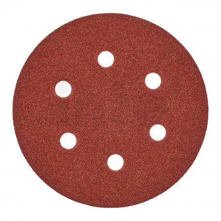 MILWAUKEE Brusný papír Ø150mm,zrnitost 40 - 5ks 4932371590