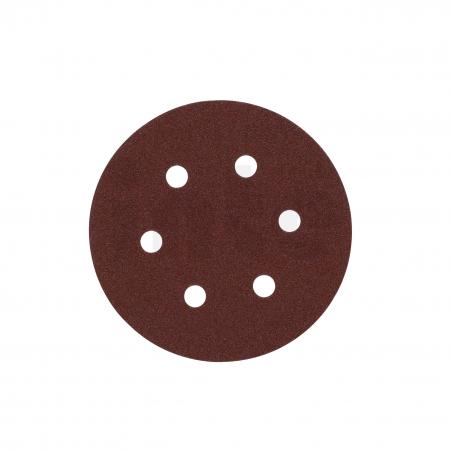MILWAUKEE Brusný papír Ø150mm,zrnitost 60 - 5ks 4932371591