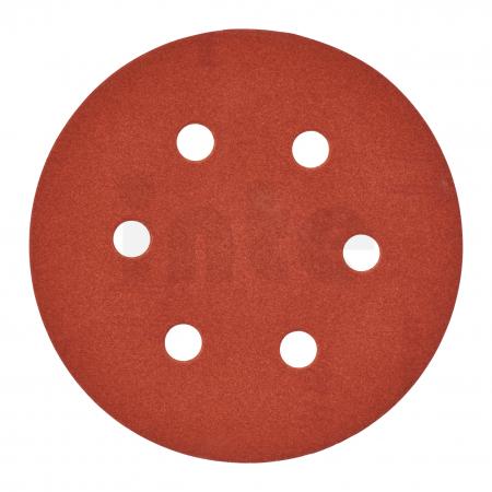 MILWAUKEE Brusný papír Ø150mm,zrnitost 180 - 25ks 4932371600