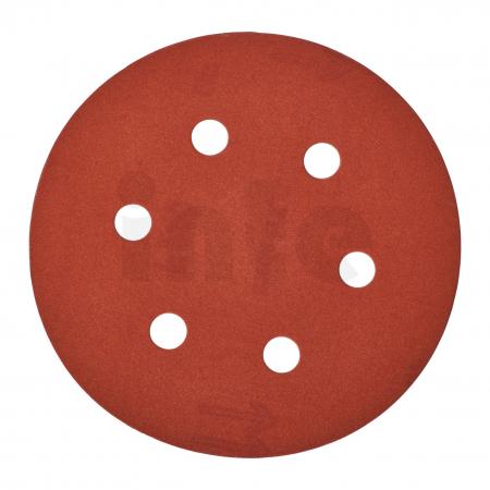 MILWAUKEE Brusný papír Ø150mm,zrnitost 240 - 25ks 4932371601
