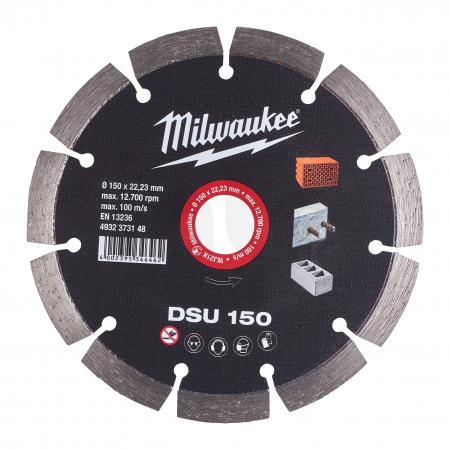 MILWAUKEE Diamantový kotouč   DSU 150 / 22.2 mm 4932373148