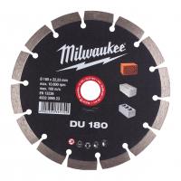 MILWAUKEE Diamantový kotouč DU 180 x 22,2 mm 4932399523