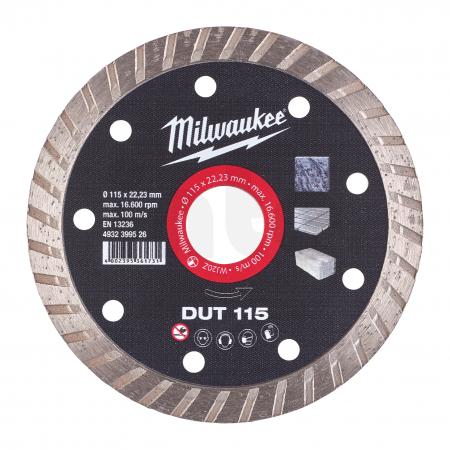 MILWAUKEE Diamantový kotouč  DUT 115  x 22,2 mm 4932399526