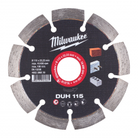 MILWAUKEE Diamantový kotouč  DUH 115 x 22,2 mm 4932399539