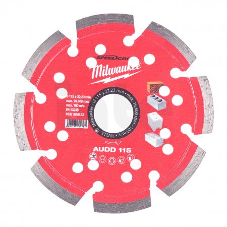 MILWAUKEE Diamantový kotouč  AUDD 115 mm 4932399823