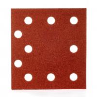 MILWAUKEE Brusný papír 115x107 zrnitost 80 - 10ks 4932430816