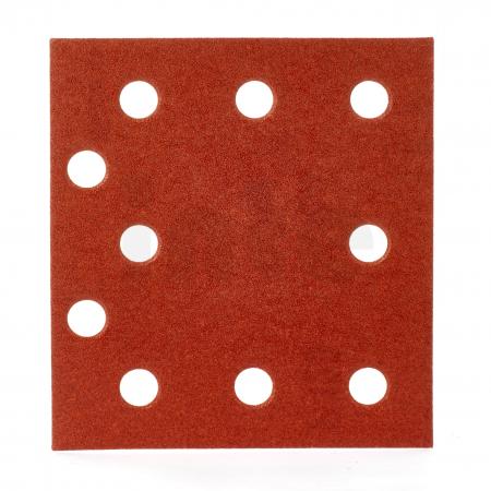 MILWAUKEE Brusný papír 115x107 zrnitost 120 - 10ks 4932430817