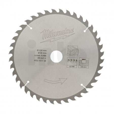 MILWAUKEE Circular saw blades for portable tools  4932451726