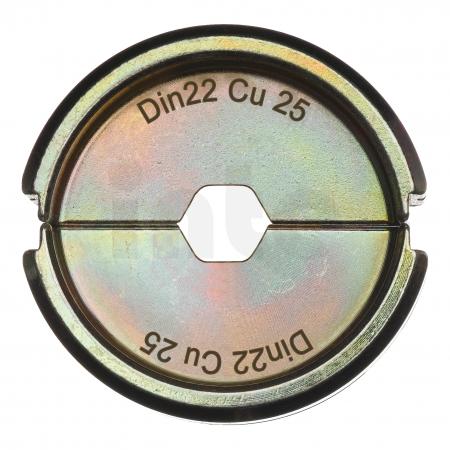 MILWAUKEE  - Krimpovací čelisti  DIN22 Cu 25 4932451745
