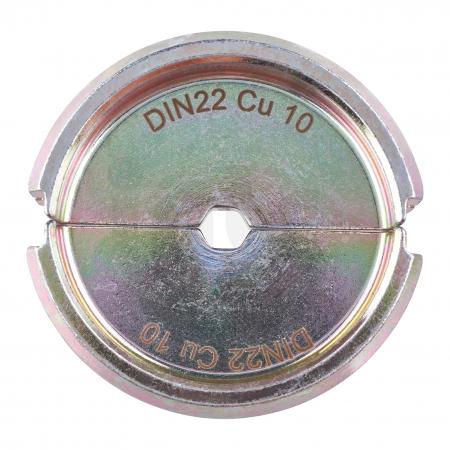 MILWAUKEE  - Krimpovací čelisti  DIN22 CU 10 -1PC 4932464862