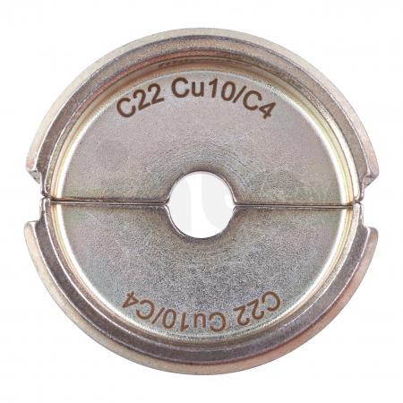 MILWAUKEE  - Krimpovací čelisti  C22 CU10/C4 -1PC 4932464863