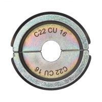 MILWAUKEE  - Krimpovací čelisti  C22 CU16/C5 -1PC 4932464864