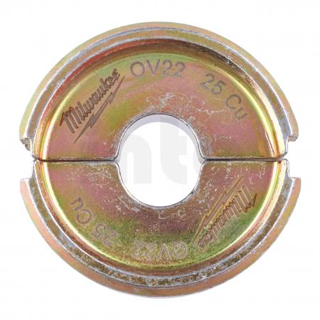 MILWAUKEE  - Krimpovací čelisti  C22 CU25/C6 -1PC 4932464865
